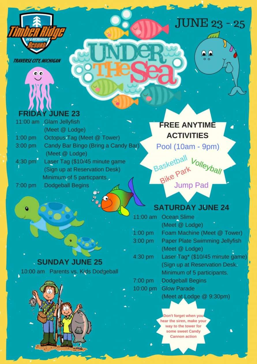 Under The Sea Week