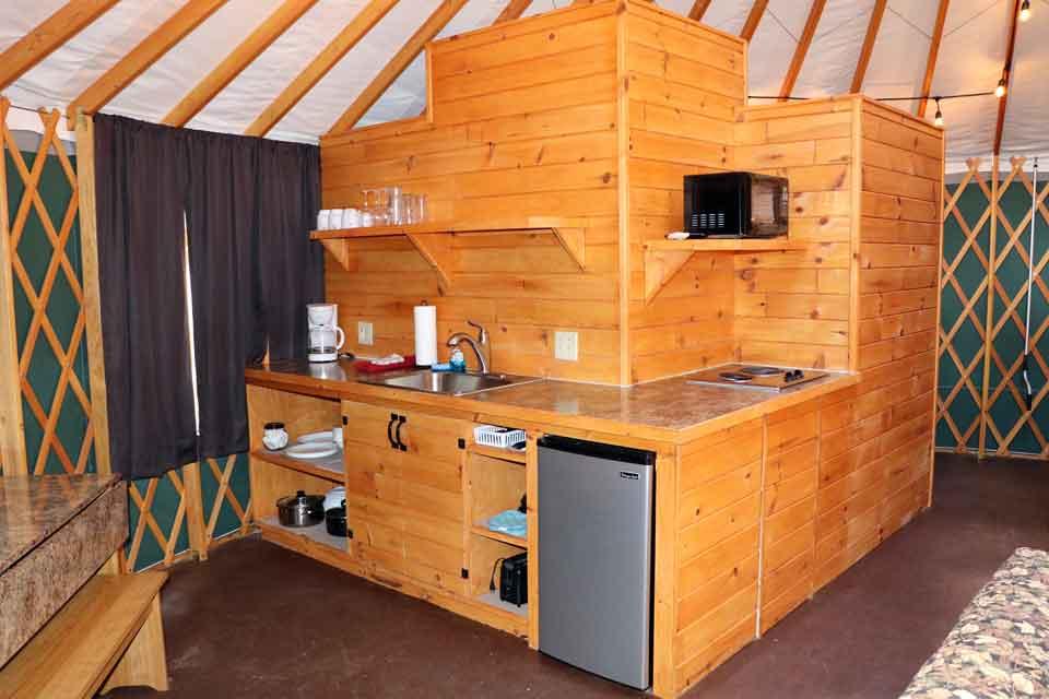 Yurts Timber Ridge Resort