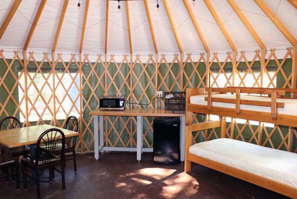 Yurts – Timber Ridge Resort