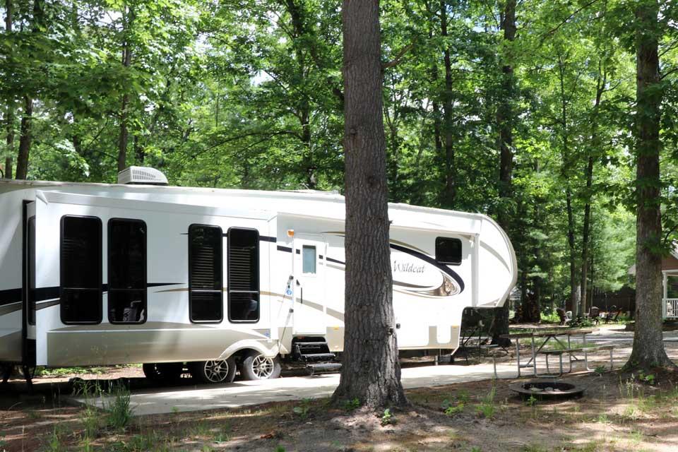 full hookup campingar i West Michigan